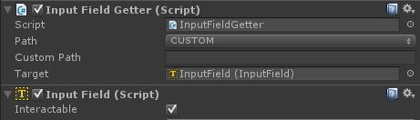 InputFieldGetter on an input field